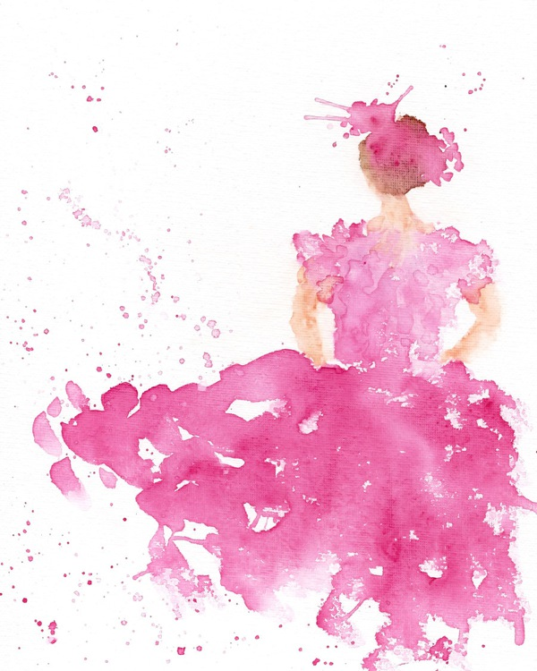 abstract_pink_ballerina_dancing_watercolor_by_thimblesparrow-d5hjd7k