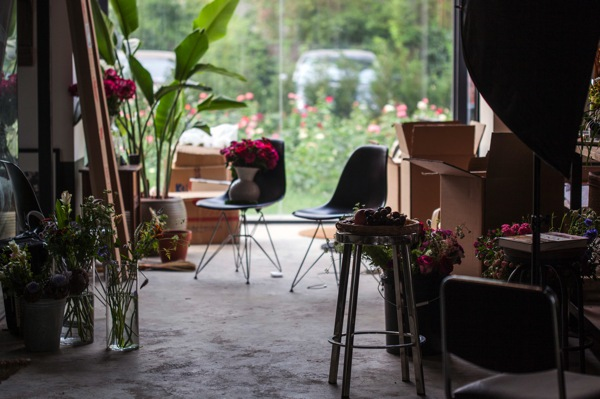 FLORETTE_workshop interior