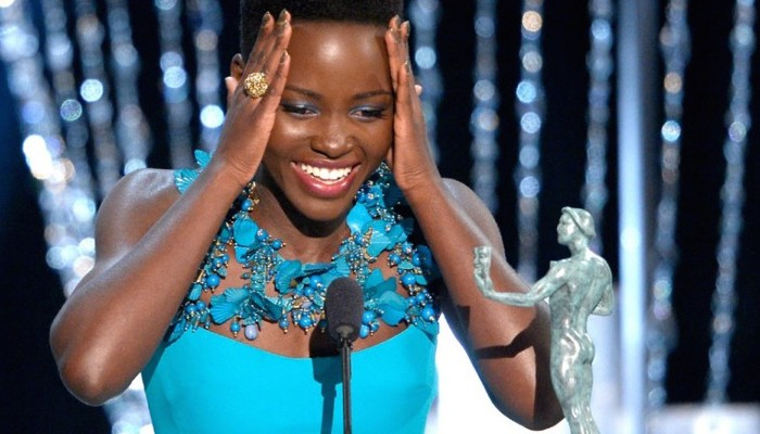 Never out of style – please meet Lupita Nyong'o 初露尖角的时尚宠儿——露皮塔•尼永奥